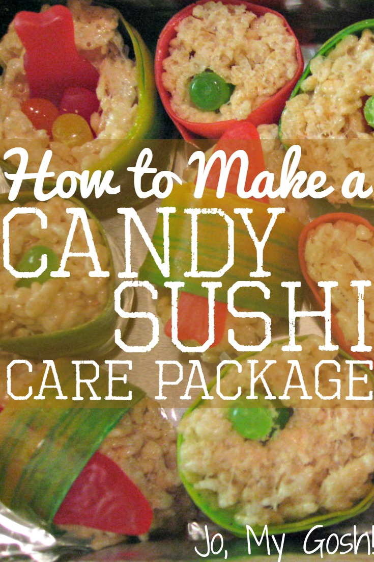 Send a box of candy sushi to a loved one!