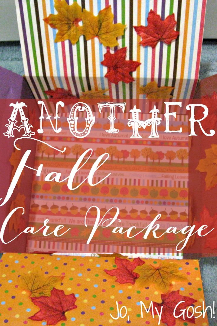 Because fall care packages are so much fun!