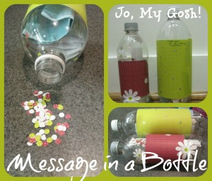 Send a message in the bottle through the mail! Perfect for deployed military, college students, and missionaries.