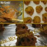 Easy Cake Mix Pumpkin Cookies