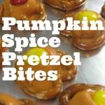 10-Minute Pumpkin Spice Pretzel Bites Snack