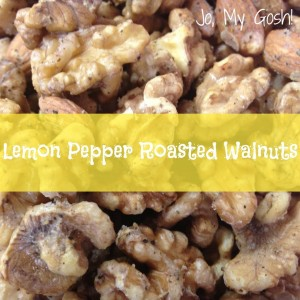 lemon, pepper, lemon pepper, roasted, walnuts, nuts, deployment, navy, sailor, military, soldier, care package, care, package, send, mail, recipe, kitchen, oven