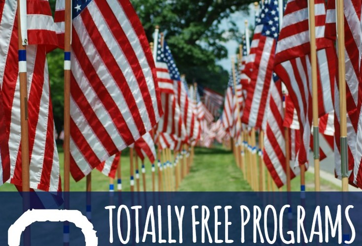 Free photo albums, tuna, and coffee for deployed military-- great resources!