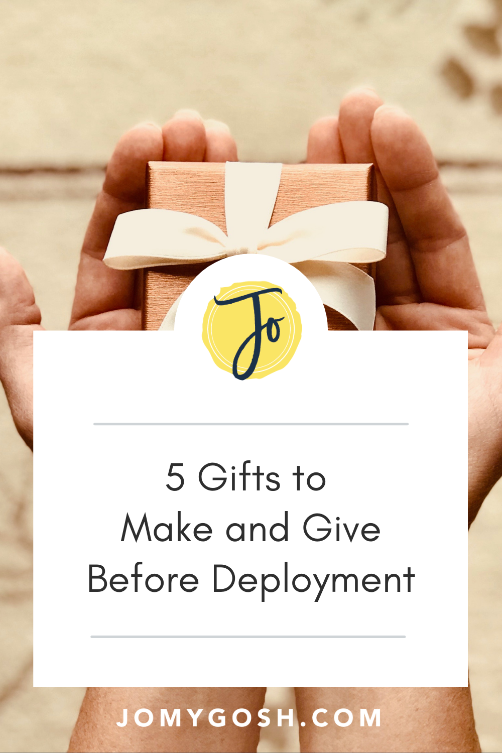 """Getting ready to say """"see you soon"""" to a loved one going on deployment? Use these thoughtful gift ideas to send them off with something meaningful. #deployment #gifts #militaryspouse #milspouse #militaryspouses #milspouses #milso #deployment #deploymentlife #deploymentsucks #military #army #navy #airforce #marines #coastguard"""