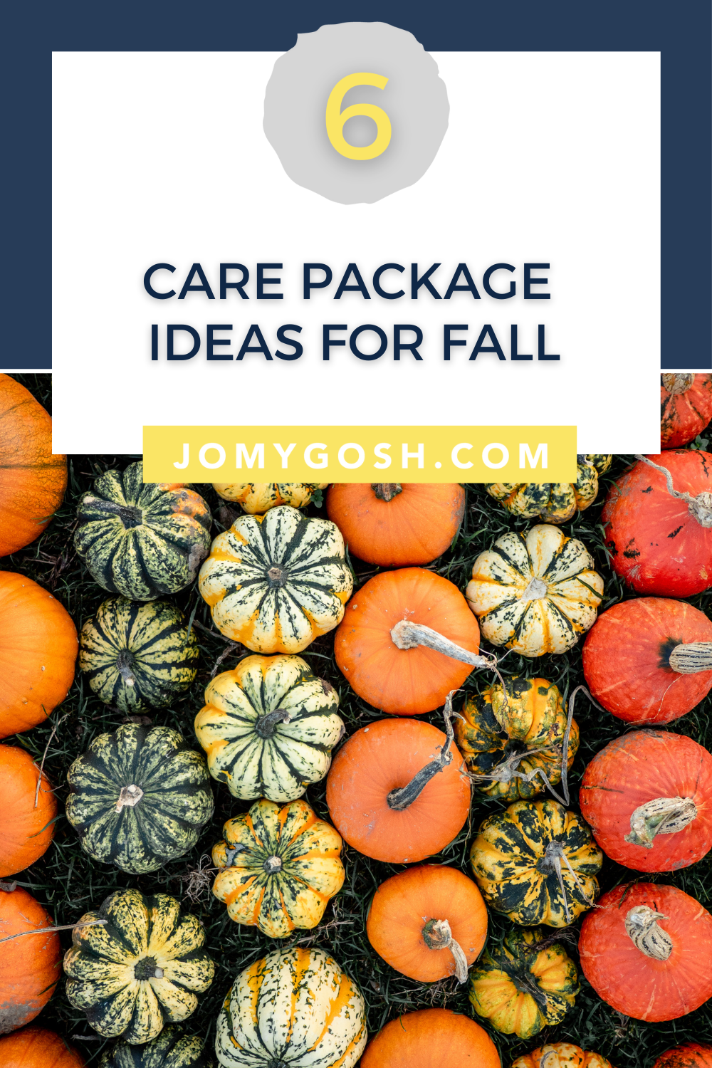 Use these ideas for your next autumn care package. #fall #carepackage #carepackages #military #militaryspouse #milspouse #college #collegestudent #lds #missionary #sendmoremail #happymail