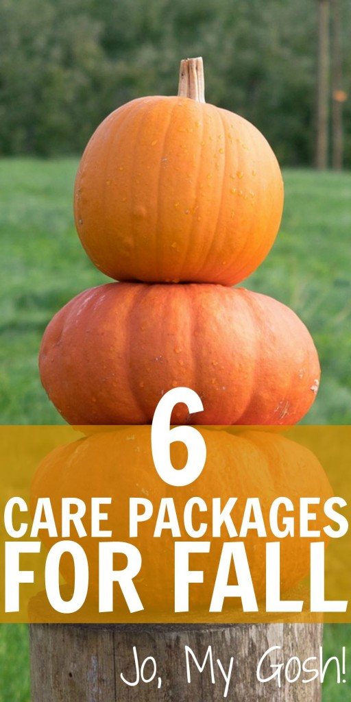 6 care package ideas for fall. Saving for later!