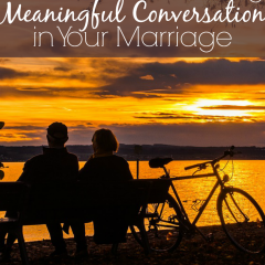 4 great reasons for conversation in marriage. Love these!