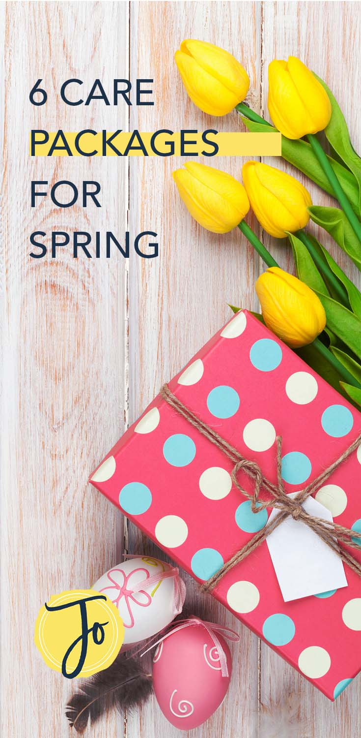 Love these easy and cute #happymail ideas for #spring. #military #ldr #longdistance #longdistancerelationship #jomygosh #carepackage #carepackages #springtime #inspiration #mail #crafts #crafting #crafty #missionary #missionaries #college #collegestudents #students
