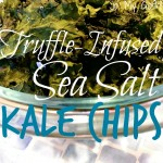 Truffle-Infused Sea Salt Kale Chips