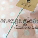 Orange Glad: The July Subscription Box Review