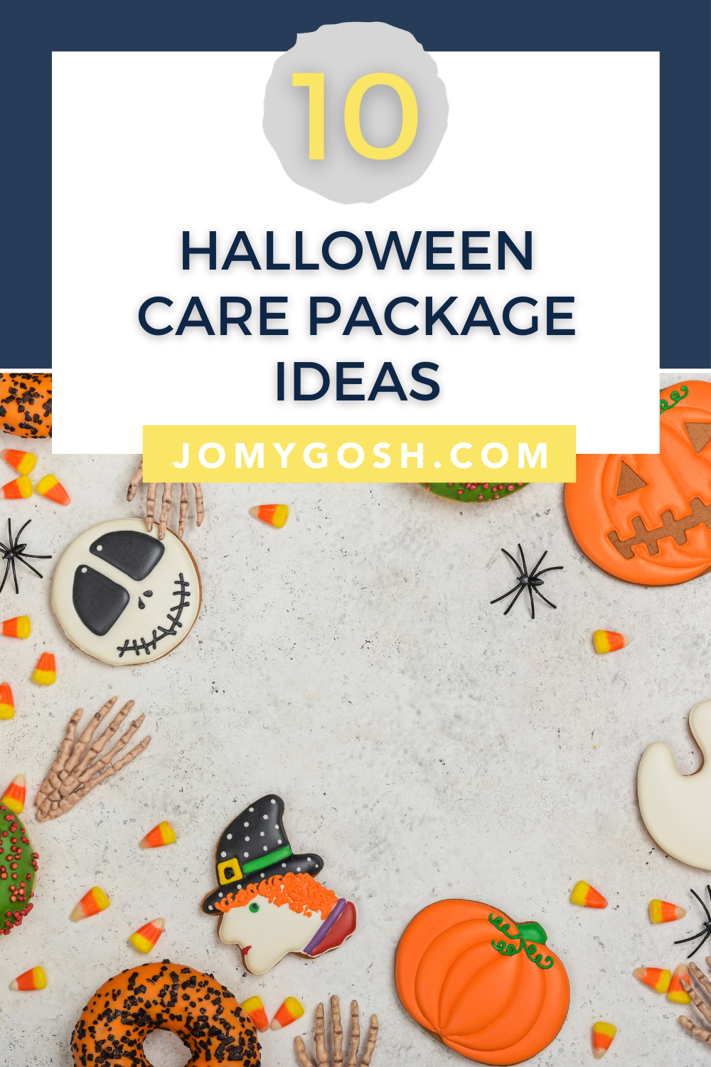 Use these care package ideas for Halloween celebrations. #halloween #carepackage #snailmail #sendmoremail #happymail #military #militaryfamily #milfam #milspouse #militaryspouse #milspouses #militaryspouses #milso #milsos #milspo #milspos #missonary #missionaries #college #collegestudent