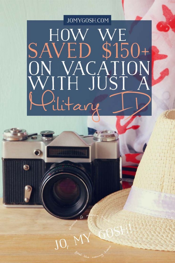 Easy way to save lots of money on vacations/staycations for military families!