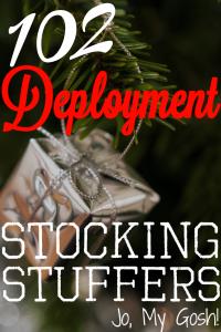 102 deployment stocking stuffers