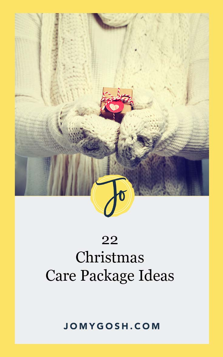 Great list of Christmas care packages! #christmas #holidays #carepackage #carepackages #militaryfamily #milspouse #milfam #militaryspouse #milso #milspo