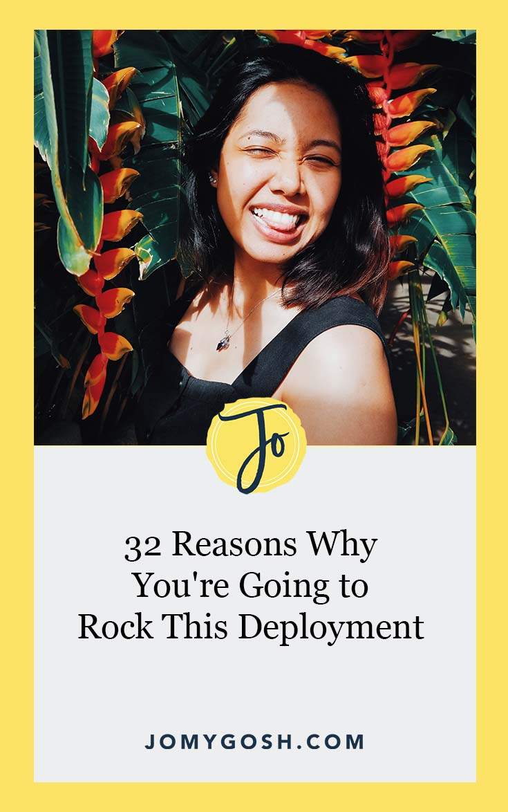 Deployment is tough, but you are so much tougher. And if you're not sure why you've got this, I've got a few for you. #deployment #deploymentlife #deploymentsucks #militaryspouse #milspouse #milso #milspo #milfam #milsos #milspos #milspouses