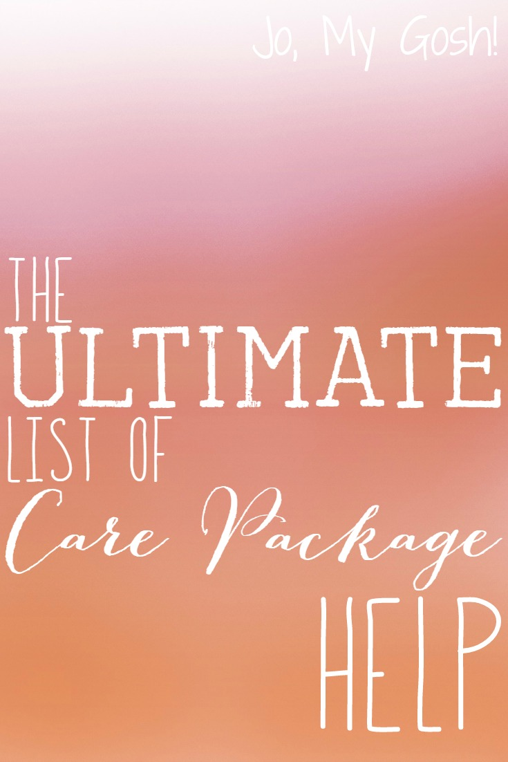 670+ tips and tricks to help you create the best care package ever!