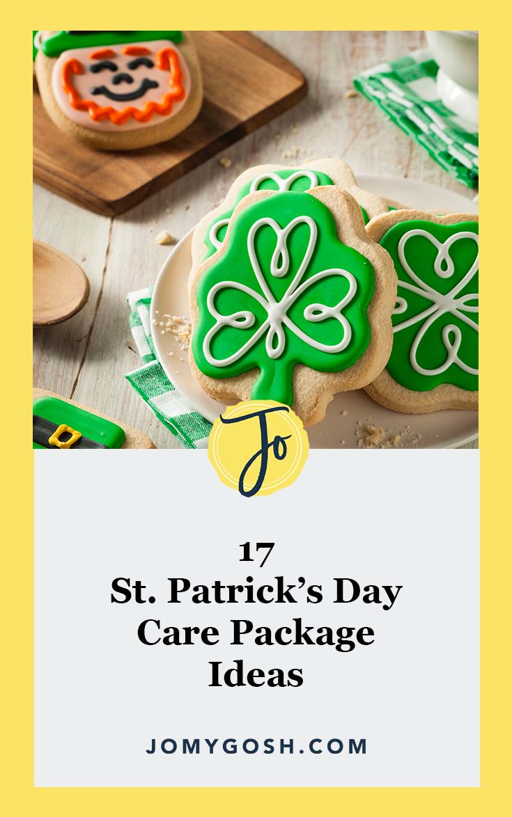 Love these #ideas for St. Patrick's Day #carepackages! #happymail #jomygosh #militaryfamily #military #milfam #milspouse #militaryspouse #militarygirlfriend #milso #milsos #milspo #milspos #milspouses #missionary #ldr #longdistance #longdistancerelationship #carepackage #green #stpatricks #stpatricksday #ireland #irish #rainbow #leprechaun