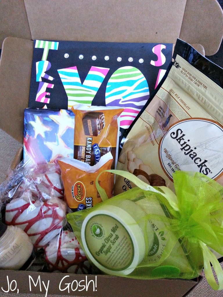 Treat your loved one to a Treat Yo Self care package!