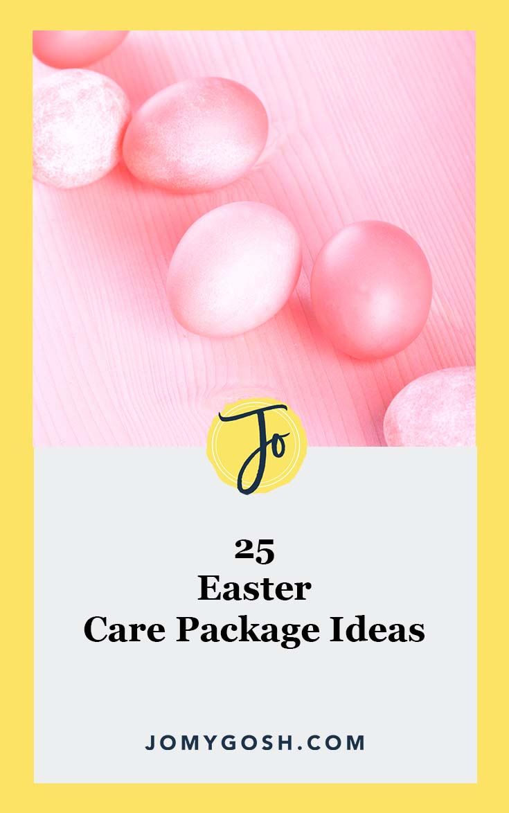 Love these ideas for #Easter #happymail! #carepackage #carepackages #military #lds #missionary #college #collegestudent #militaryfamily #deployment #jomygosh #milspouse #milso #milspo #ldr #longdistance #gifting #gifts