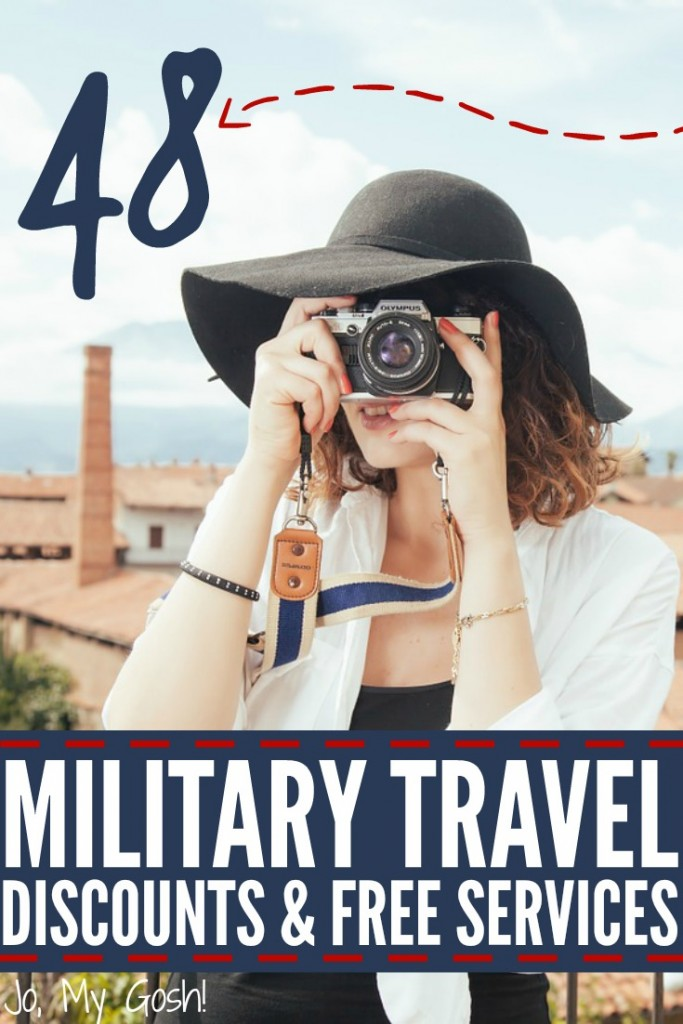 Tons of money-saving tips and discounts for military travel and vacations! Love this!