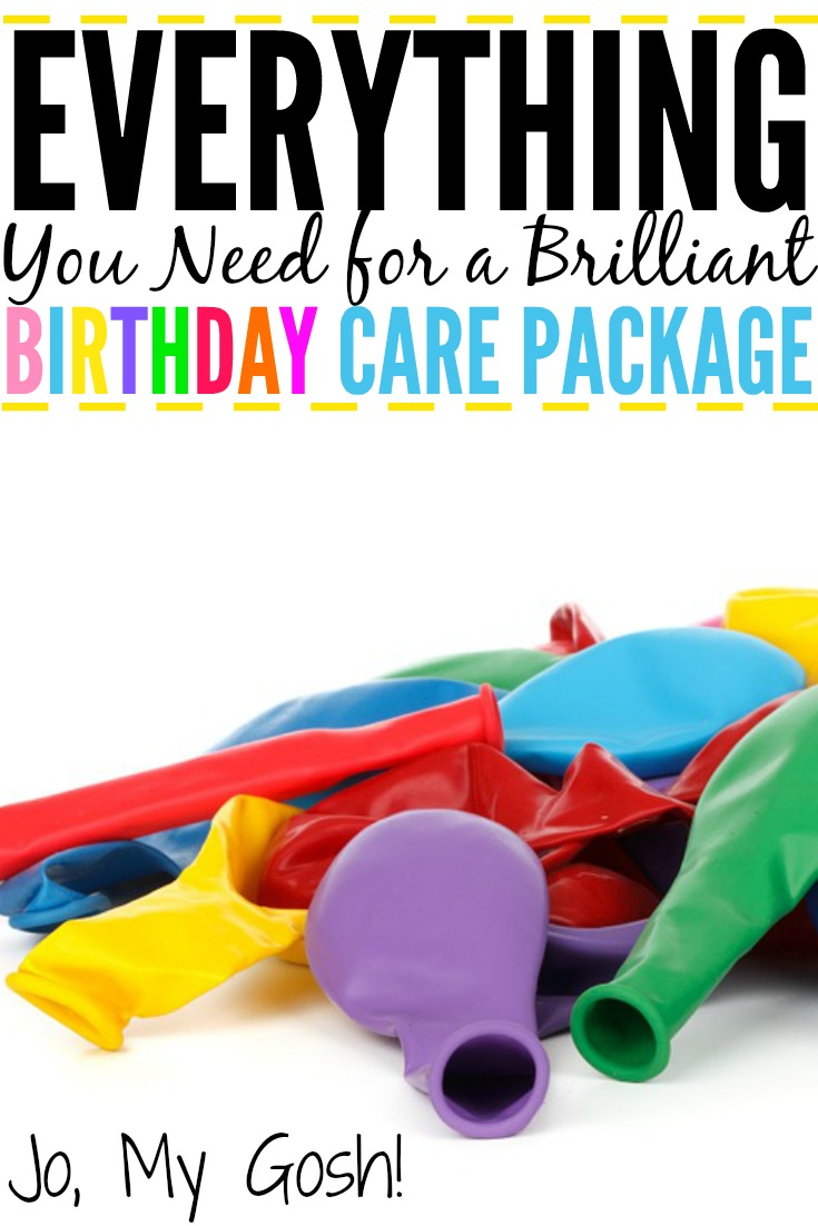 Birthdays Away From Friends And Family Can Be A Little Lonely Ive Collected Trove Of Birthday Box Ideas As Well Gifts DIYs You Make To Put