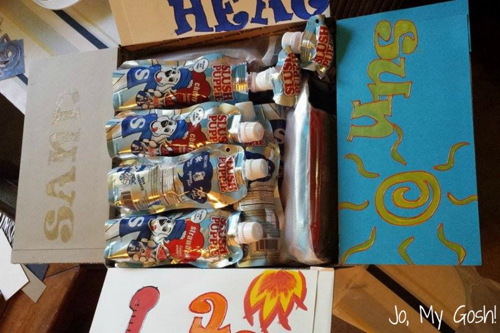 Great care package idea for summer or hot places! #milso #milspouse #milfam