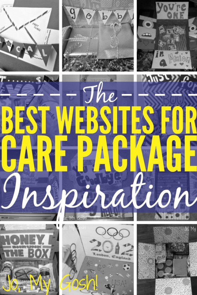 8 awesome care package websites and resources for inspiration. Need to keep this for the next deployment!