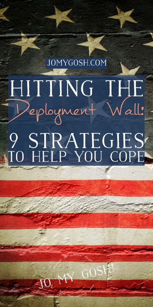When you feel like you can't go on, you can. How to beat the deployment wall.