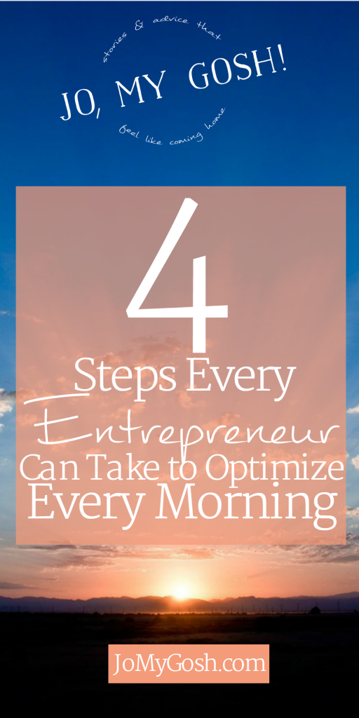 Creating a morning schedule doesn't have to be hard, entrepreneur, milspouse, business