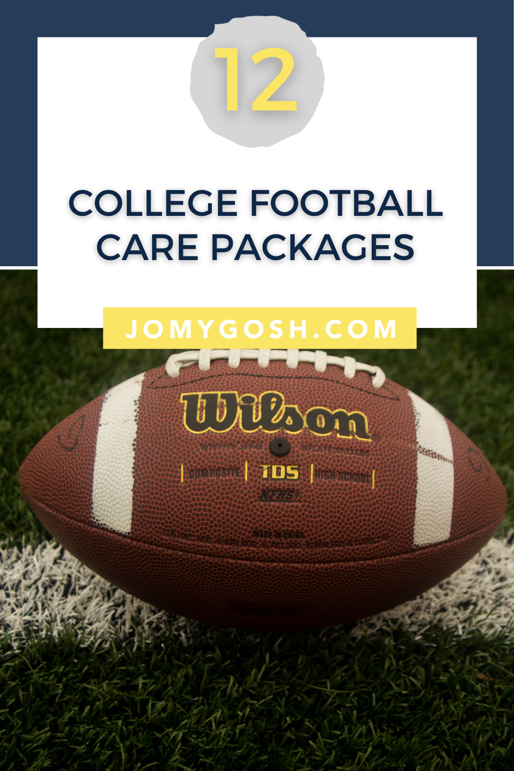 Round up with college football care packages,  links so you can save them easily!