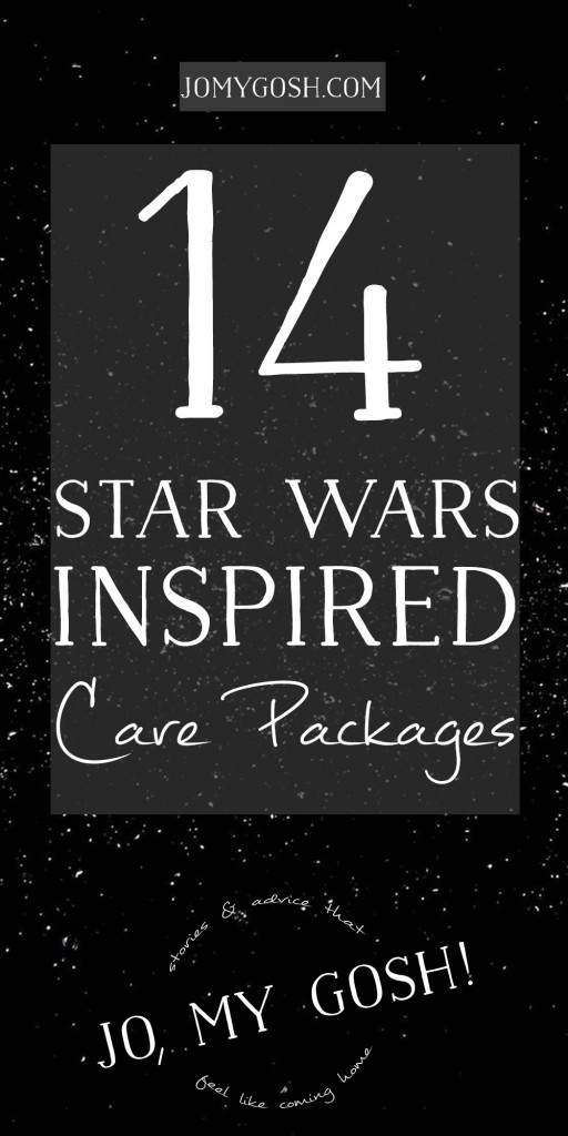 14 Star Wars care package ideas w/ themed recipes, crafts, and DIYs too