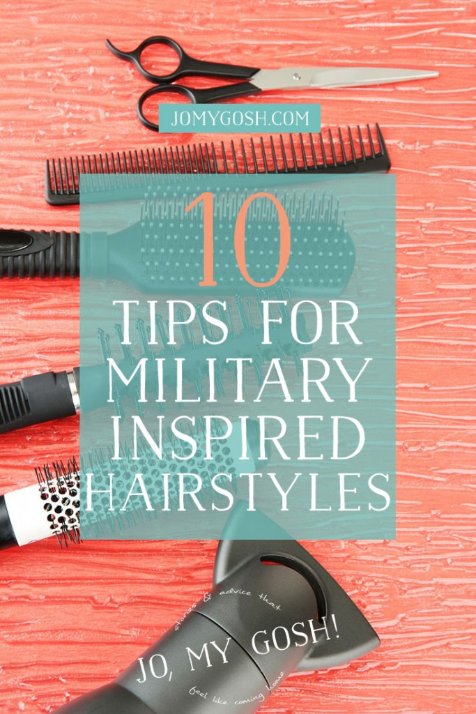 Love the YouTube video on buns in this post! Great hairstyle tips, love the military inspiration!