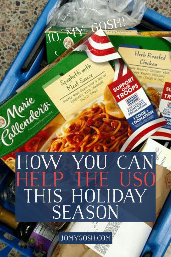 Help raise money for the USO this holiday season... just by entering a code!