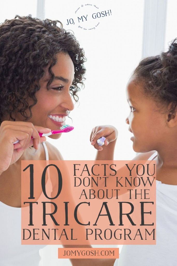 I didn't know any of these about the tricare dental benefits for military families! An extra cleaning while you're pregnant for free-- love knowing this!