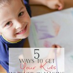5 Ways to Get Your Kids Involved in Making Care Packages