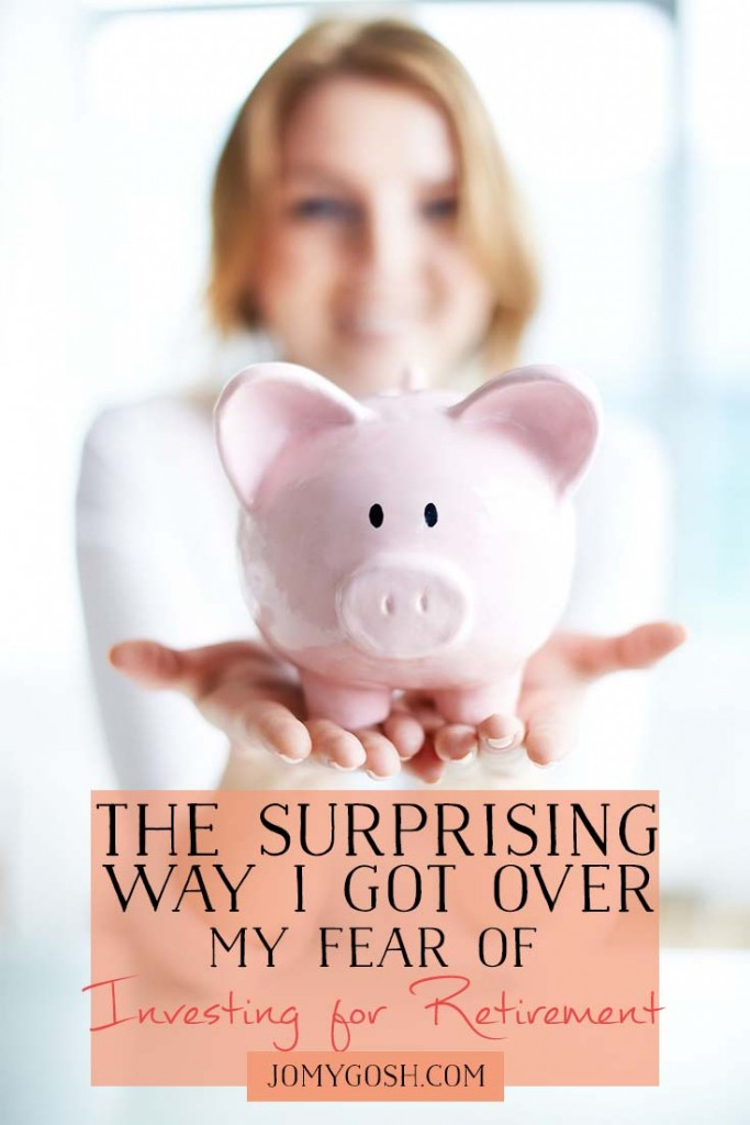 Saving for retirement can be confusing and frustrating... and paralyzing. Here's what this #milspouse did to get over her fear.
