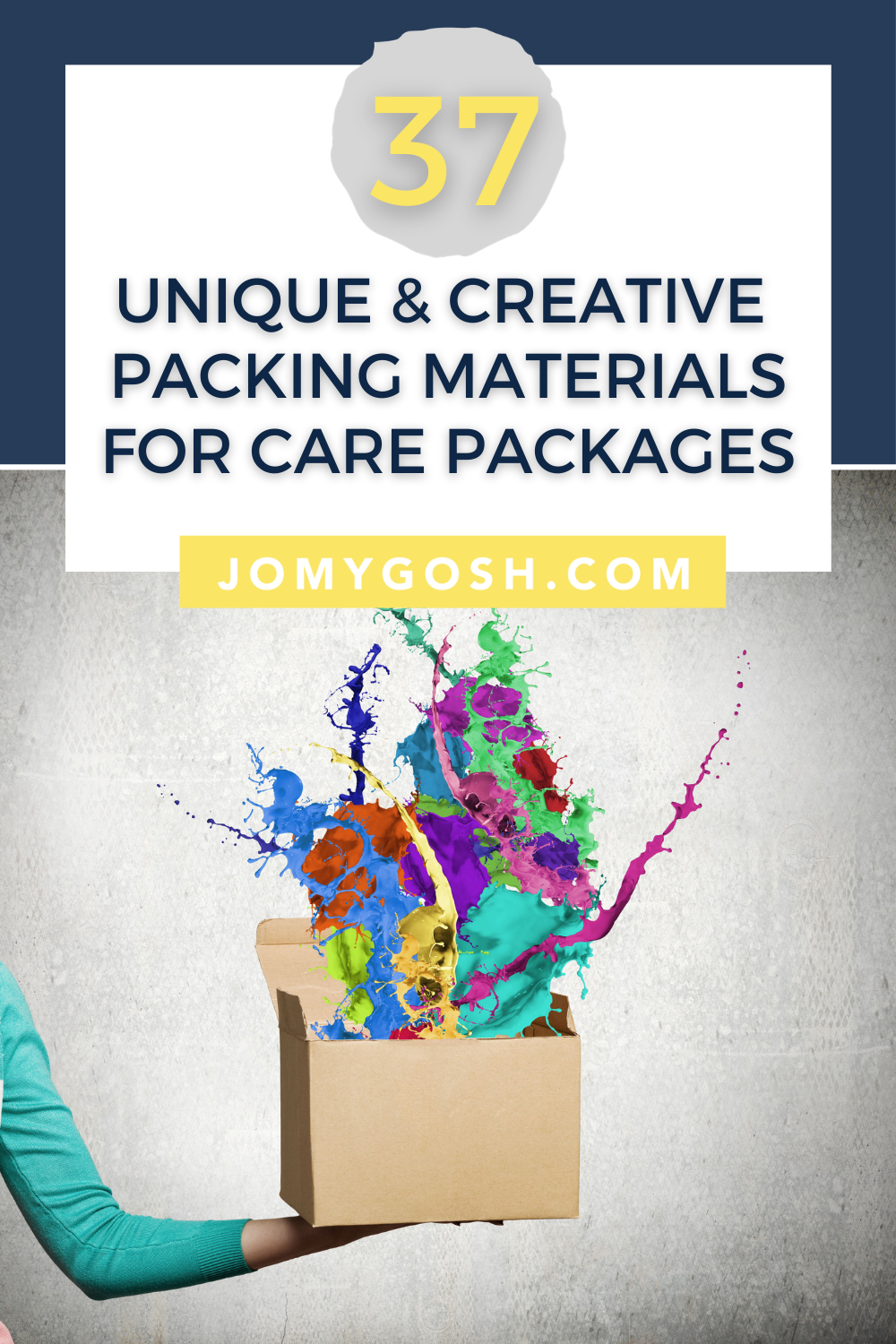 Packaging materials don't have to be expensive or boring. Here's to get the most bang out of your shipping costs and care package impact using interesting and available packing materials #carepackage #carepackages #packingmaterial #packagingmaterial #military #missionary #missionaries #college #collegestudent #sendmail #sendmoremail #happymail