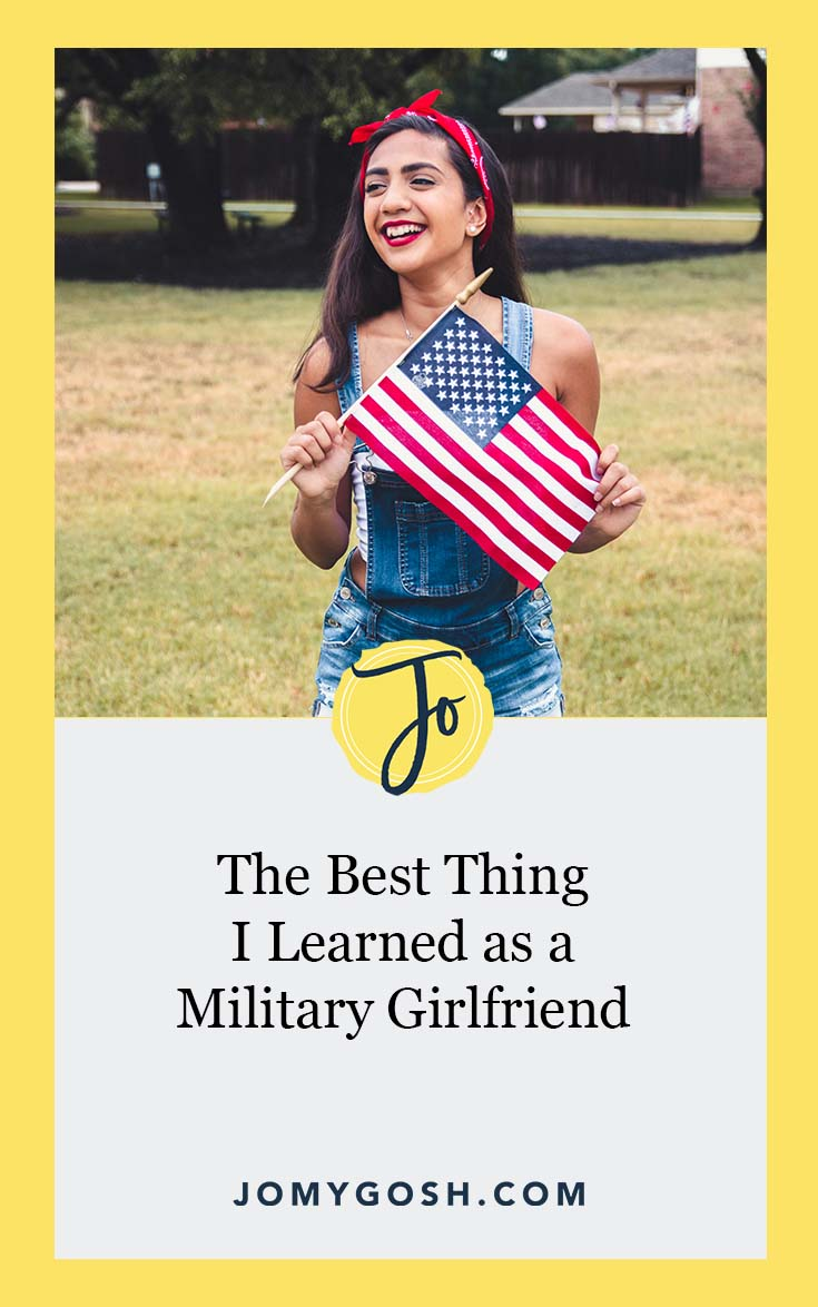 A must read for all of the military girlfriends out there who are feeling overwhelmed.