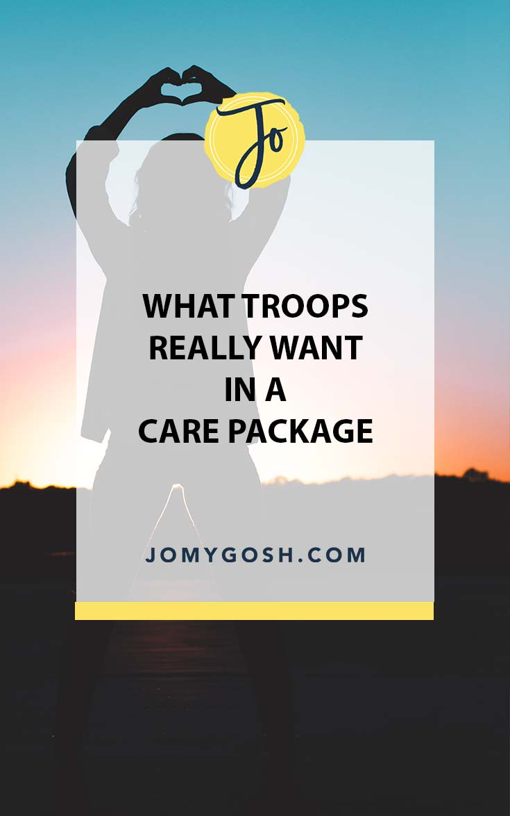 Here's what deployed service members want in a care package. Spoiler alert: it's probably not what you're sending them. #carepackage #happymail #jomygosh #deployment #army #navy #airforce #marines #coastguard #arng #ng #nationalguard #reserves #militaryspouse #milspouse #milso #milspo #milfam #militaryfamily