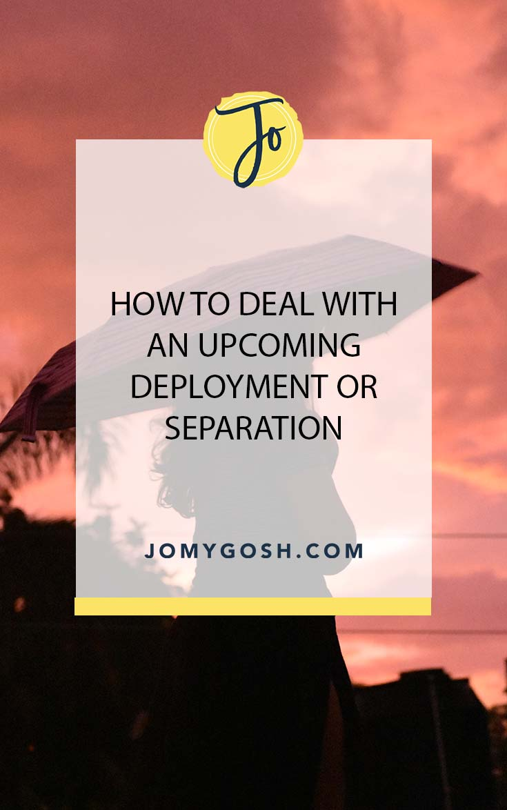 Saying goodbye is hard, but the lead-up to saying goodbye is brutal. #deployment #ldr #longdistance #military #longdistancerelationship #relationships #relationshipadvice #separation #milspouse #milso #milspo #militaryspouse