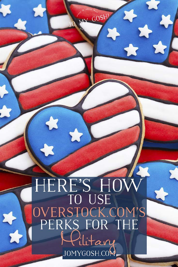 Overstock.com has a kind of unusual perk for military and veterans. #ad