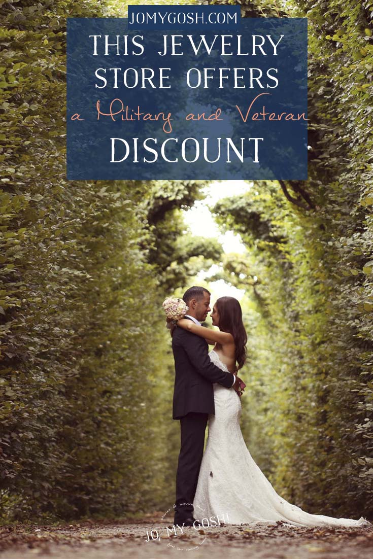 Jewelry store discount for military and veterans #ad