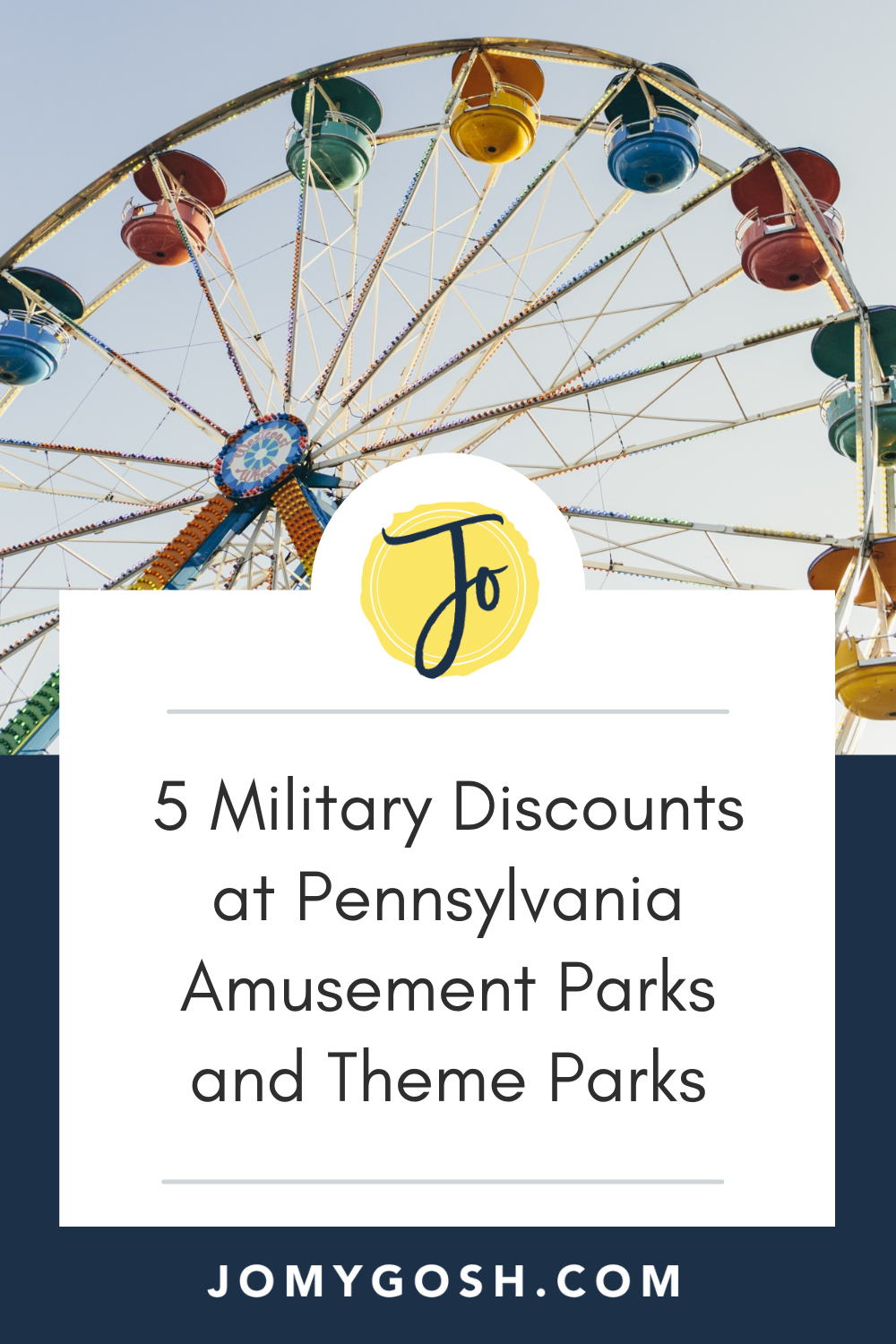 Whether you're daytripping or vacationing, make sure that you seek out a military discount at one (or more) of these five PA amusement parks and theme parks! #militarydiscount #militaryfamily #milfam #saving #budgeting #travel #budgettravel #freebies #militaryspouse #milspouse #milspo #milspos #discounts #savingmoney #amusementpark #themepark #cheapfun
