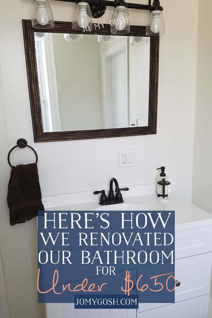 Love this bathroom renovation! #ad