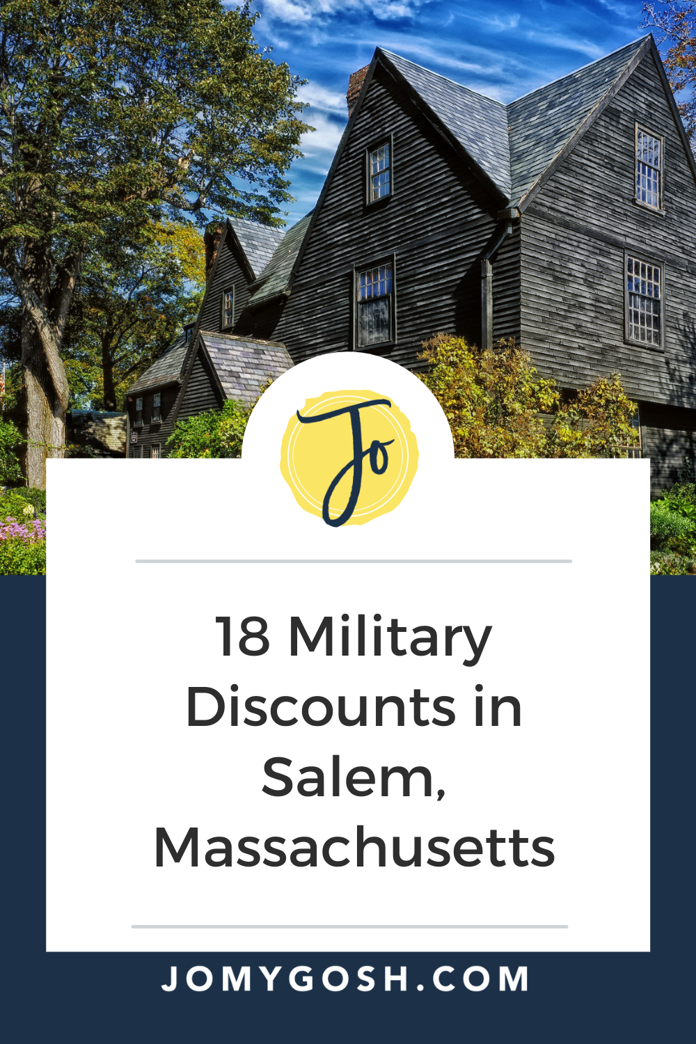 Love these travel tips for #milfams going to #salem #ma #travel #travelhacks #traveldiscounts #travelinfo #massachusetts #history #americanhistory #militarydiscount #militarydiscounts