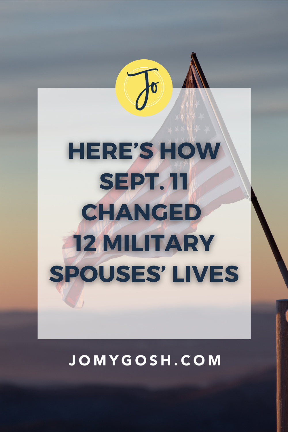 The world changed. So did we. #militaryspouse #milspouse #september11 #911 #sept11 #patriotday #milfam #milfams #militaryfamily