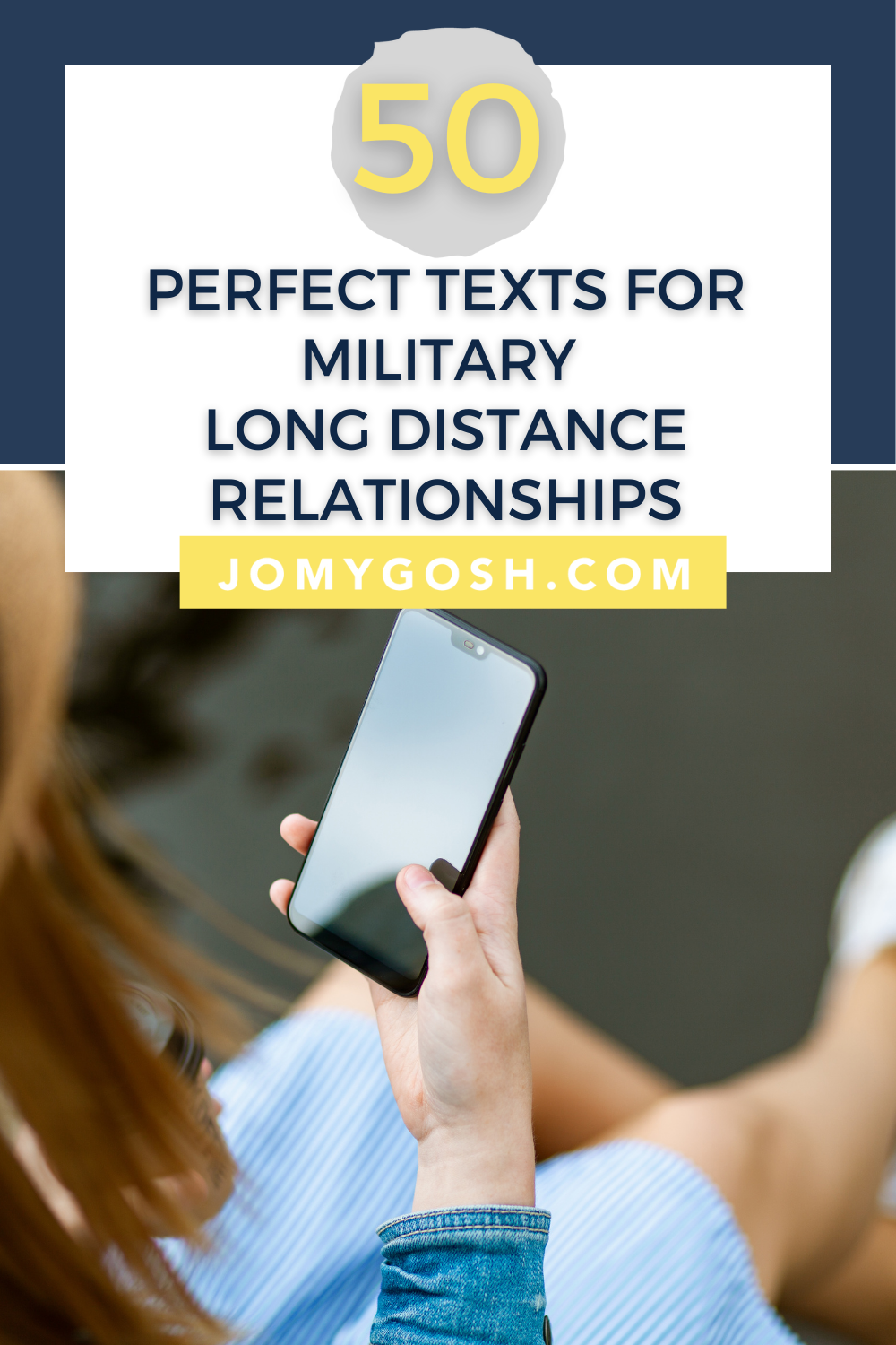 Copy and paste these text message ideas to connect with your partner. #longdistance #ldr #ldrcouples #military #militarycouples