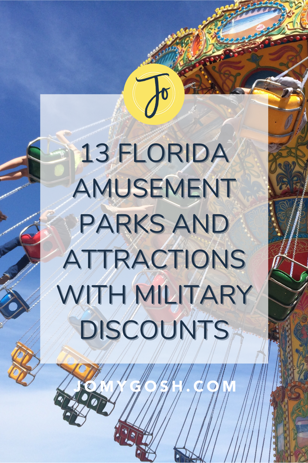 Live in Florida? Maybe you're traveling to the Sunshine State? Military families can take advantage of many discounts in amusement parks and attractions this summer (and throughout the year). And, believe it or not, those discounts extend to Disney World and other huge parks! #militaryfamily #milspouse #milfam #army #navy #airforce #marines #discounts #militarydiscount #freebies #savingmoney