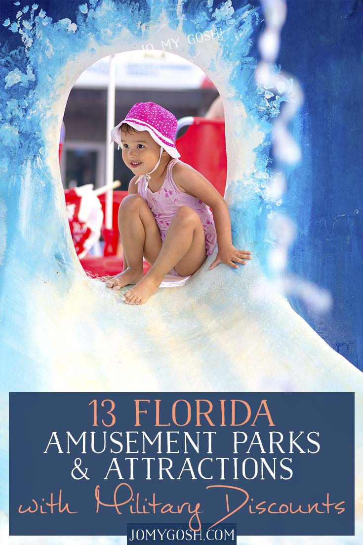 Live in Florida? Maybe you're traveling to the Sunshine State? Military families can take advantage of many discounts in amusement parks and attractions this summer (and throughout the year). And, believe it or not, those discounts extend to Disney World and other huge parks!