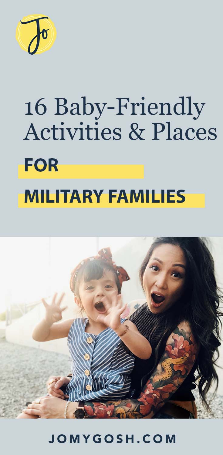 You don't have to worry about being uncomfortable or unwanted as a mom or dad at these places. Love the suggestions for baby and kid-friendly activities for military families, including some I've never heard of before!